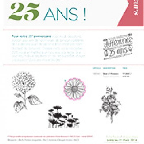 """Tampons """"Best of"""" 25 ans et …"""