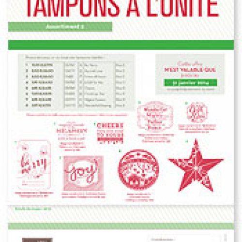 Nouvelles collection de tampons pour les Fêtes de fin d'année !!