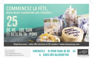 Read more about the article Les 25 ans de Stampin'Up!