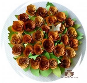 Des fleurs…