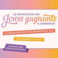 LES JOURS GAGNANTS SONT DE RETOUR !!!