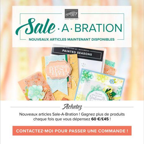 Sale A Bration : nouveautés jusqu'au 31 mars