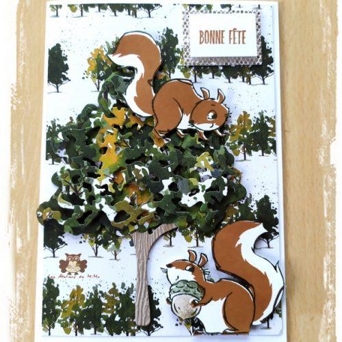 Les écureuils…