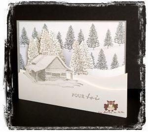 Read more about the article Un chalet sous la neige, une maison à la campagne…